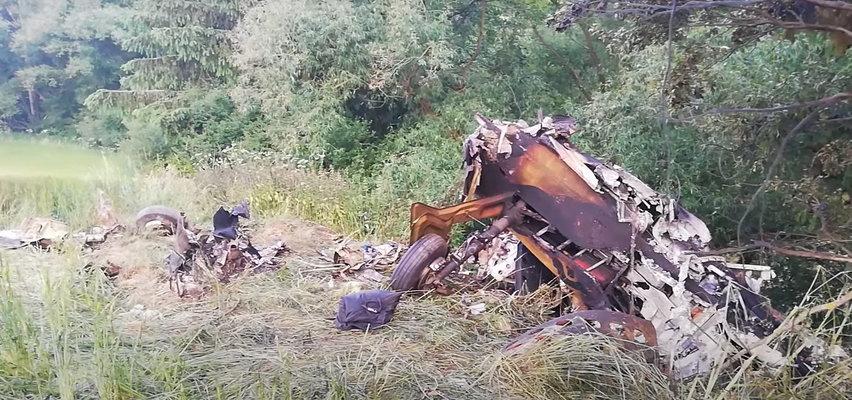 Katastrofa samolotu lecącego z Polski