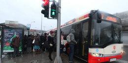 Tak spóźniają się autobusy!