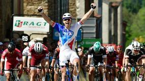 Criterium du Dauphine: Arnaud Demare wygrał etap, Michał Kwiatkowski w peletonie