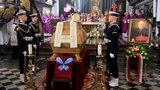 Z arcybiskupem pożegnał się jak z ojcem