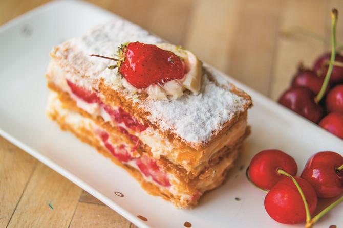 na francuski kolač