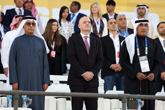 Meču Japana i Katara je prisustvovao i predsednik FIFA Đani Infantino