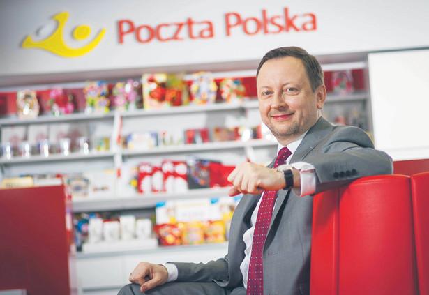 Grzegorz Kurdziel, członek zarządu Poczty Polskiej, odpowiedzialny m.in. za pracę listonoszy