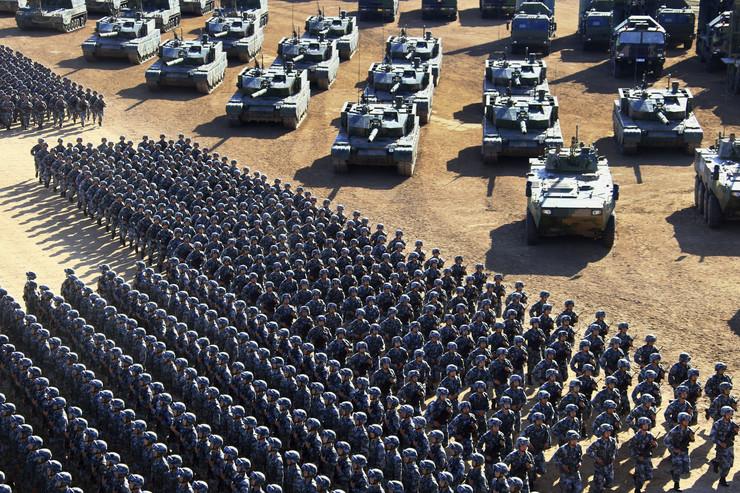 Kineska vojska, Kina