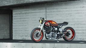 Yamaha TR1 Cafe Racer - custom z przyprawą Hondy i szczyptą Benelli
