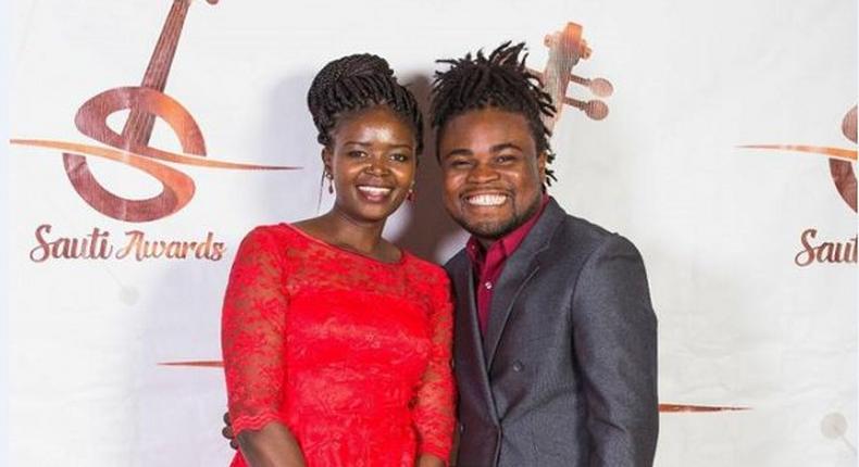 Eunice Njeri and Isaac Bukasa during happier times