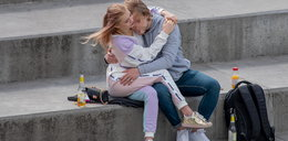 Julia Wróblewska na randce z ukochanym