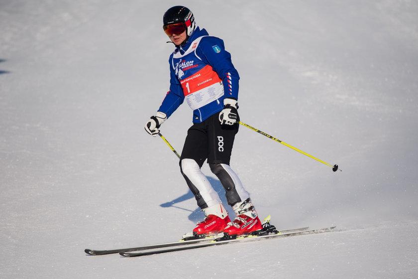 Prezydent Duda szaleje na nartach!