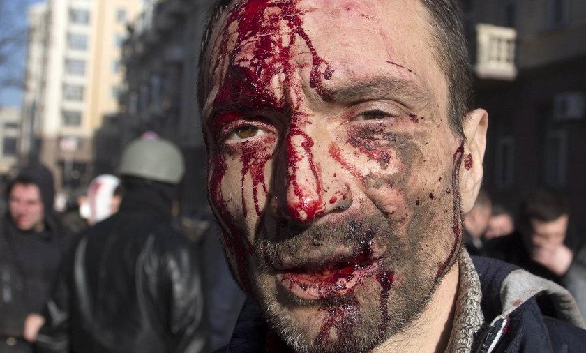 Krwawe starcia na Ukrainie