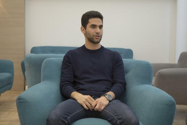 Hani Odeh u prostorijama Ekonomskog fakulteta
