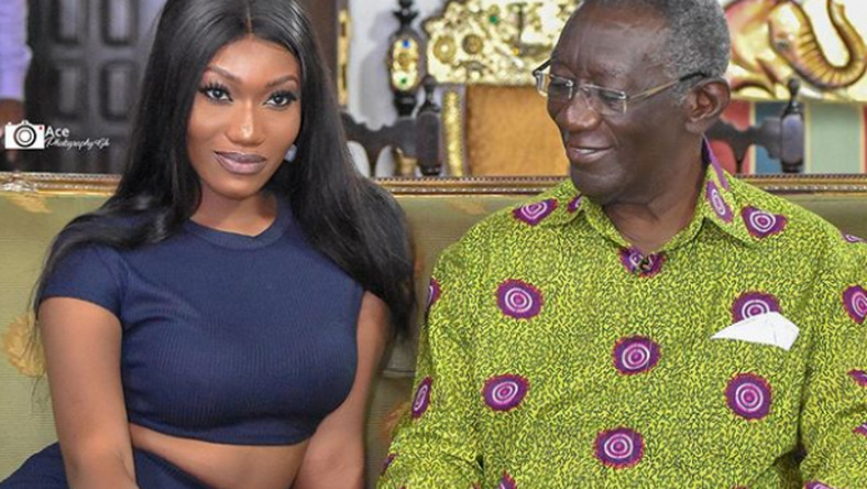 WATCH: Wendy Shay Apologizes To Kufour For Dressing Indecent To His House 2
