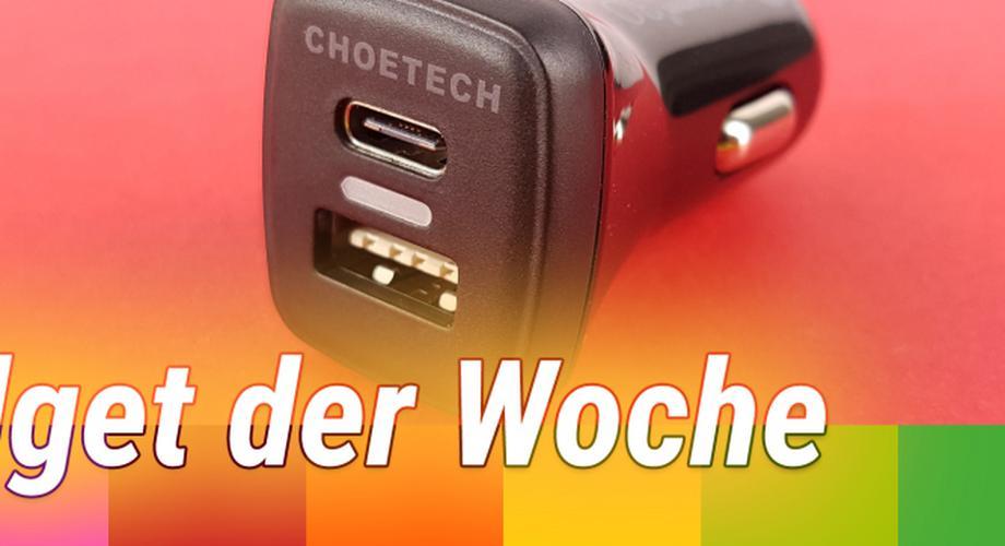 Gadget der Woche 79: Quick-Charge-3.0-Ladegerät fürs KFZ