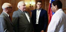 Oszukali Lecha Wałęsę na Filipinach. Chodzi o tysiące dolarów!