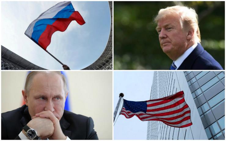 Kolaž Putin Tramp