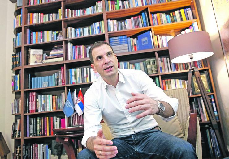 Milos jovanovic predsednik DSS