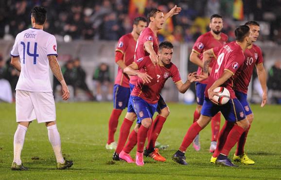 Srbija - Portugal