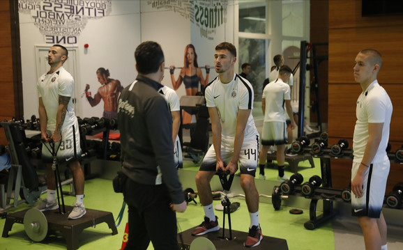 Igrači FK Partizan na prvom treningu u Turskoj