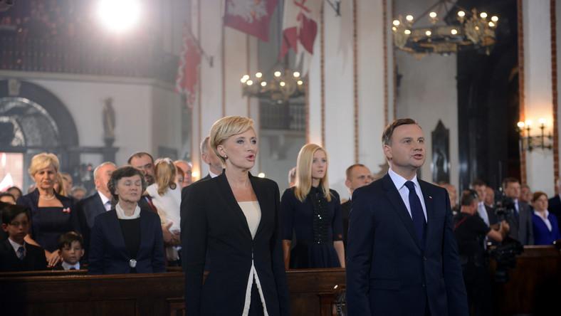 Andrzej Duda prezydentem. Msza w archikatedrze warszawskiej inaugurująca nową prezydenturę