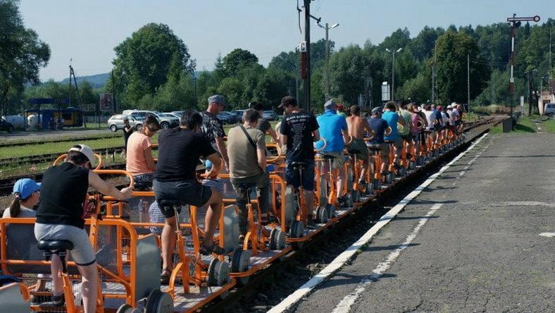Drezyny rowerowe - turystyczny hit