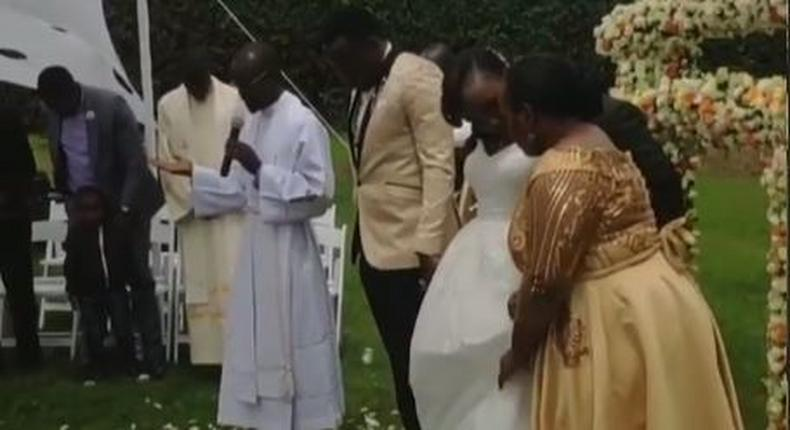 Gospel singer Magic Mike weds longtime girlfriend in lavish wedding