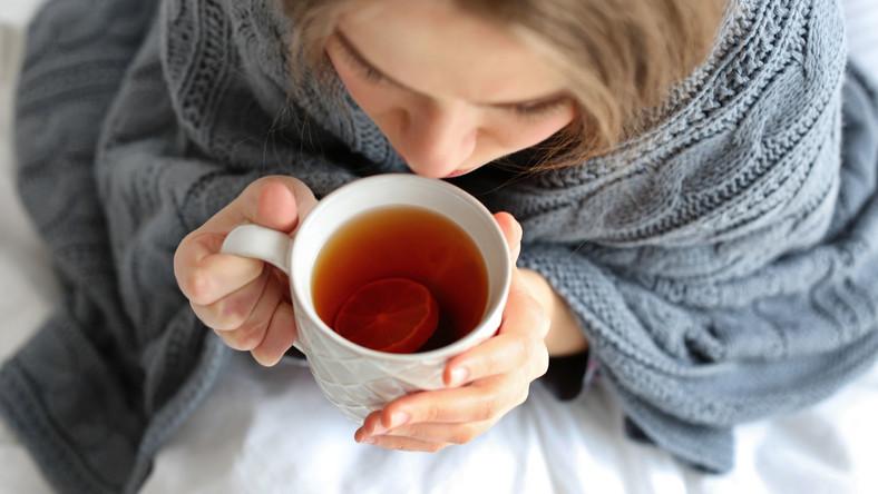 Gorąca herbata