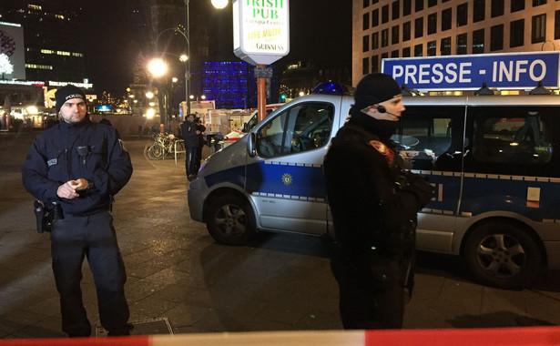 Zamach w Berlinie. Niemiecka policja w centrum miasta
