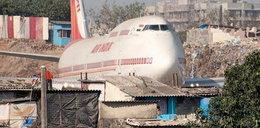 Koszmar! Samolot uderzył w ścianę