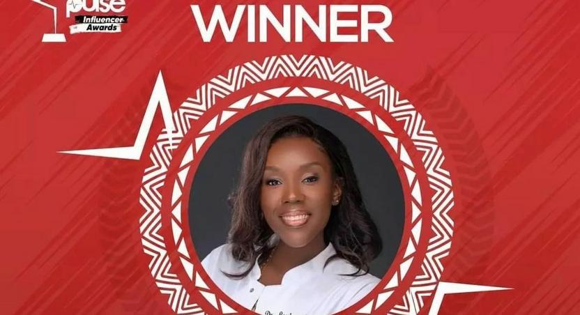 Dr Louisa Ansong wins Pulse Influencer Awards