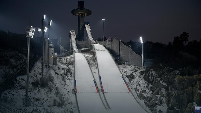 Alpensia Ski Park w Pjongczangu