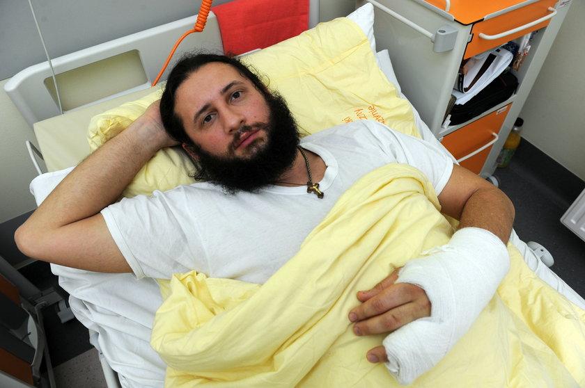Tusk wstrzymał leczenie rannych z Majdanu