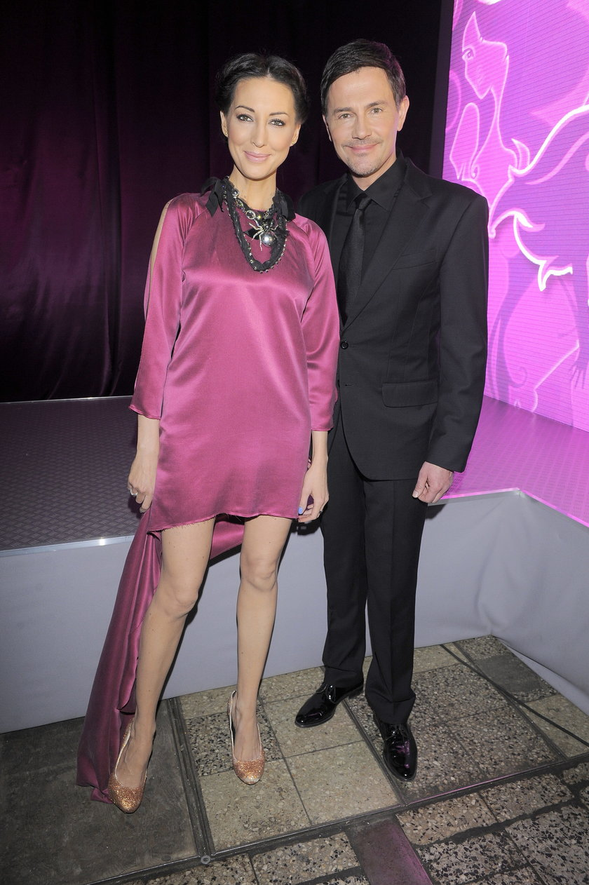 Krzysztof Ibisz z byłą żoną