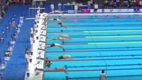 Piękny gest pływaka. Opóźnił swój start w wyścigu, by uczcić ofiary zamachu w Barcelonie