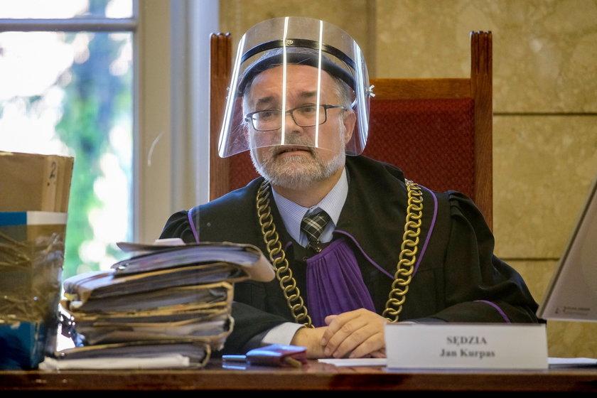 Sędzia Jan Kurpas z Sądu Okręgowego w Katowicach
