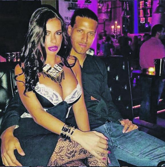 Aleksandar Prijović sa suprugom Marinom