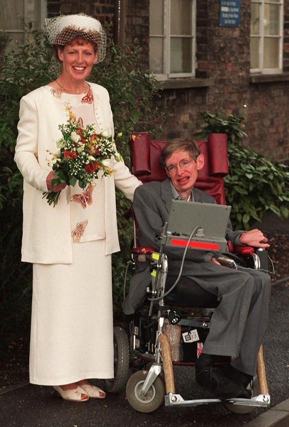 Stiven i Elejn na venčanju