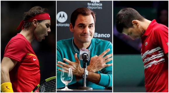 Rodžer Fedederer, Novak Đoković, Rafael Nadal