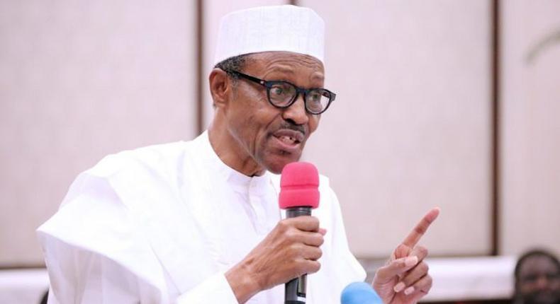President Muhammadu Buhari. (Naijaloaded)