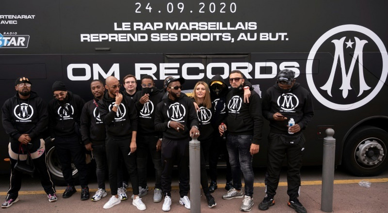 Marseille launch rap label 'OM records' with music giant BMG