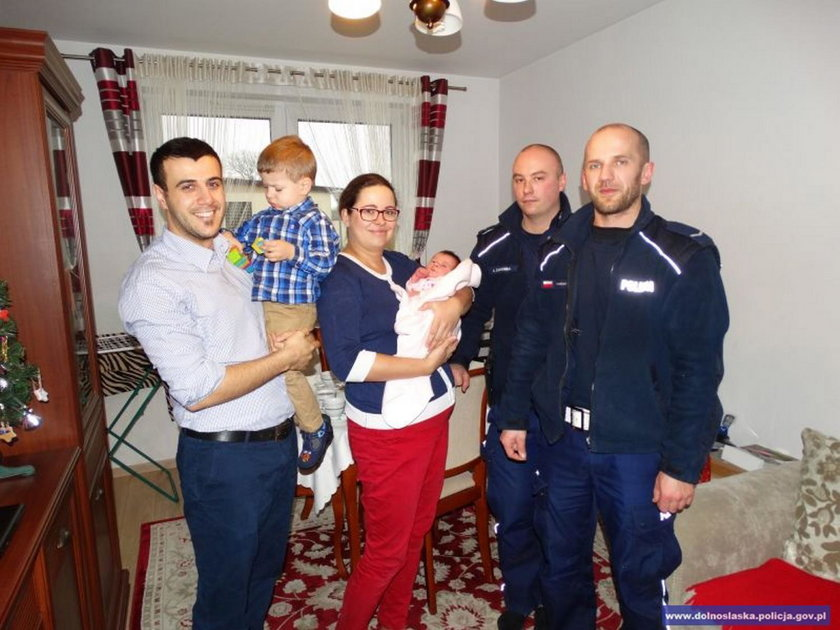 Szczęśliwa rodzina z Wrocławia