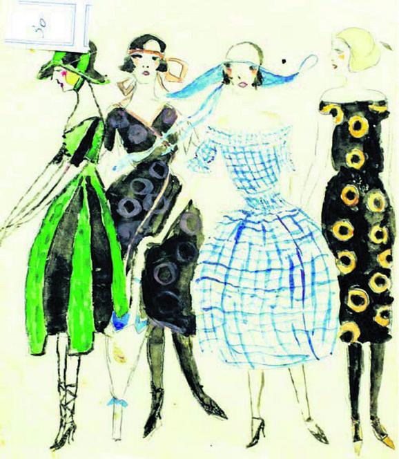 Dečji crtež, 1920, Fondacija Milenin dom
