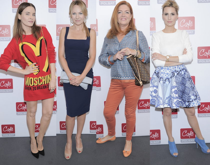 Gwiazdy na konferencji jesiennej ramówki Polsat Cafe