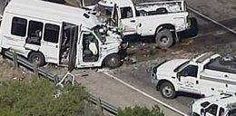 Wypadek busa. Wiele ofiar śmiertelnych