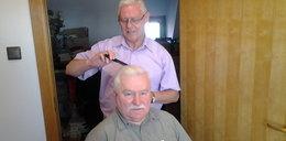 Przychodzi fryzjer do prezydenta i...