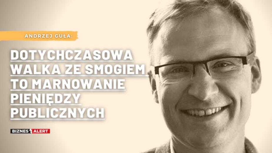 Andrzej Guła. Grafika: Gabriela Cydejko