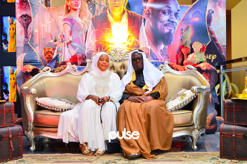 Aladdin movie premiere at Sky Cinemas, Sky Mall, Lekki-Epe Expressway, Lagos. (Pulse Nigeria)