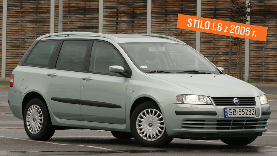 Fiat Stilo Multiwagon - 2005 r.
