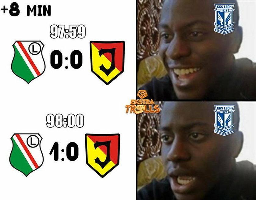 Memy po meczu Legia-Jagiellonia
