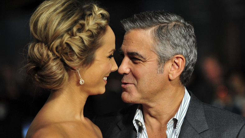 George Clooney i Stacy Keibler