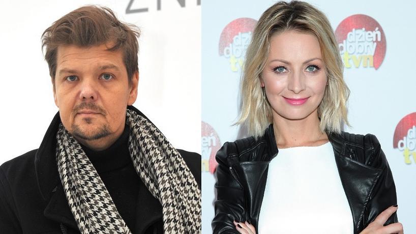 Michał Figurski i Katarzyna Olubińska