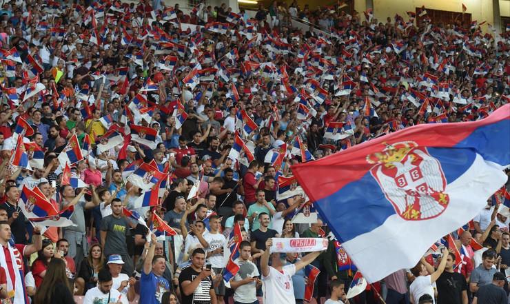Srbija navijači